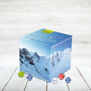 Bespoke Luxury Lindt Cube Advent Calendar