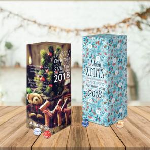 Personalised Luxury Lindt Tower Advent Calendar