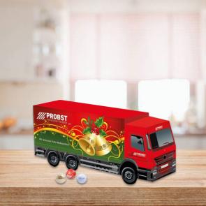 Luxury Lindt 3D Truck Advent Calendar