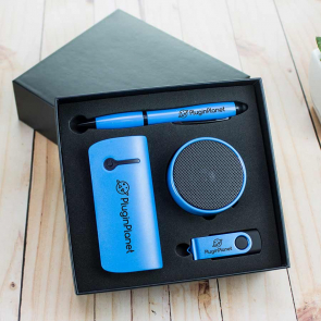 Powerbank, USB, Speaker & Pen Giftset