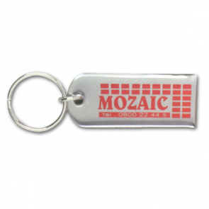 Stainless Steel Keyrings Printed