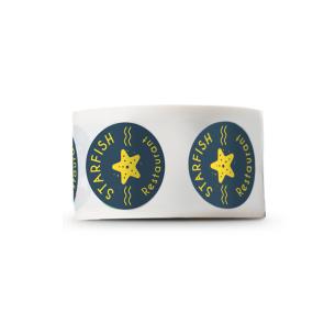 50mm Diameter Stickers