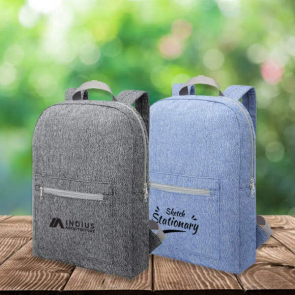 Pheebs 210 g/m² Recycled Cotton & Polyester Backpack