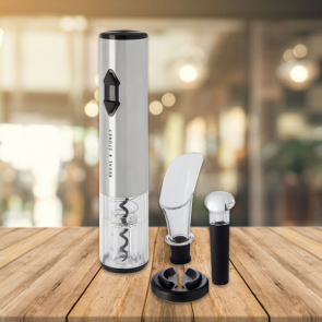 Pino Electric Wine Opener with Wine Tools
