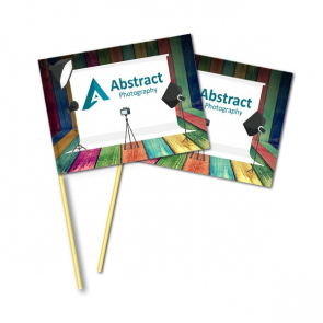A5 Biodegradable Hand Waving Flags