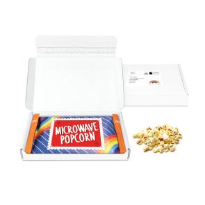 Postal Packs – Midi Postal Box - Microwave Popcorn - Microwave Popcorn DP