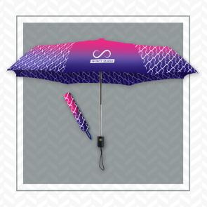 Soft Feel Printed Promo Matic Umbrella