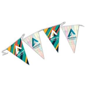 Indoor Triangular Paper Bunting