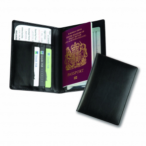 Balmoral Bonded Leather Deluxe Passport Holder