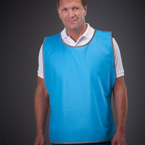 Polyester Tabard With Reflective Trim