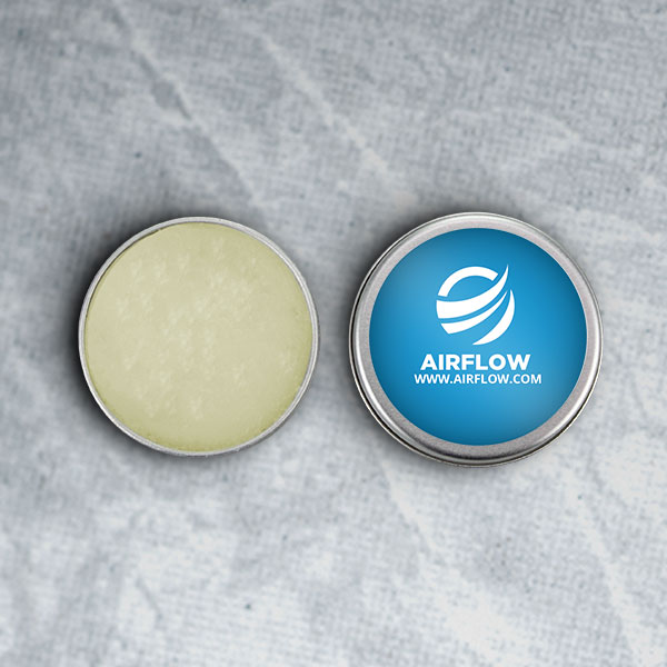 Lip Balm with a Twist on Lid