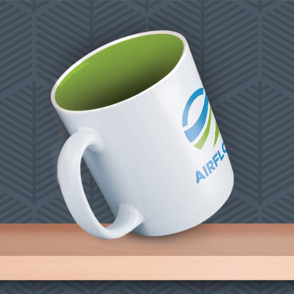 Durham Inner ColourCoat Logo Mug