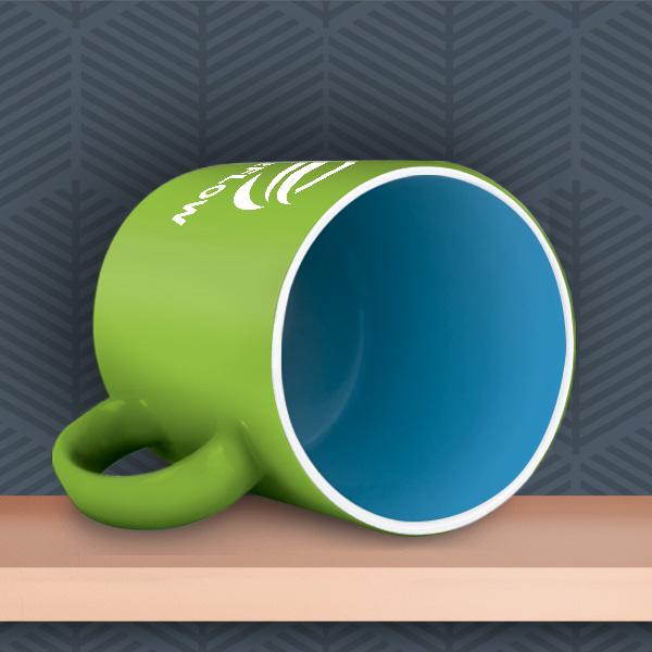 Durham Inner & Outer ColourCoat Custom Mug