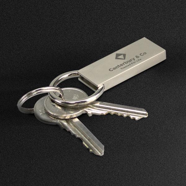 Large Padlock Key Ring