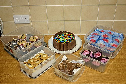 Cakes from the bake-off
