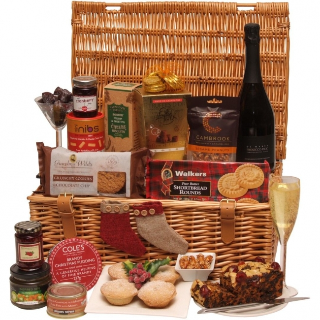 Night Before Christmas Hamper - A great collection of festive promotional food and drink