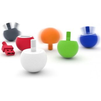 Promotional USB spinning tops