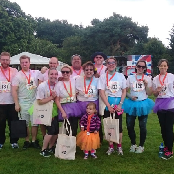 Team Pellacraft Raises over £2,250 for Framework