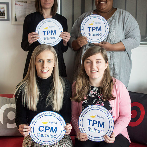 Four Pellacraft team members achieve BPMA accreditations