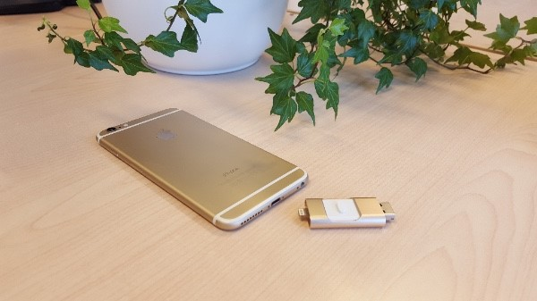 Smart USB in Gold