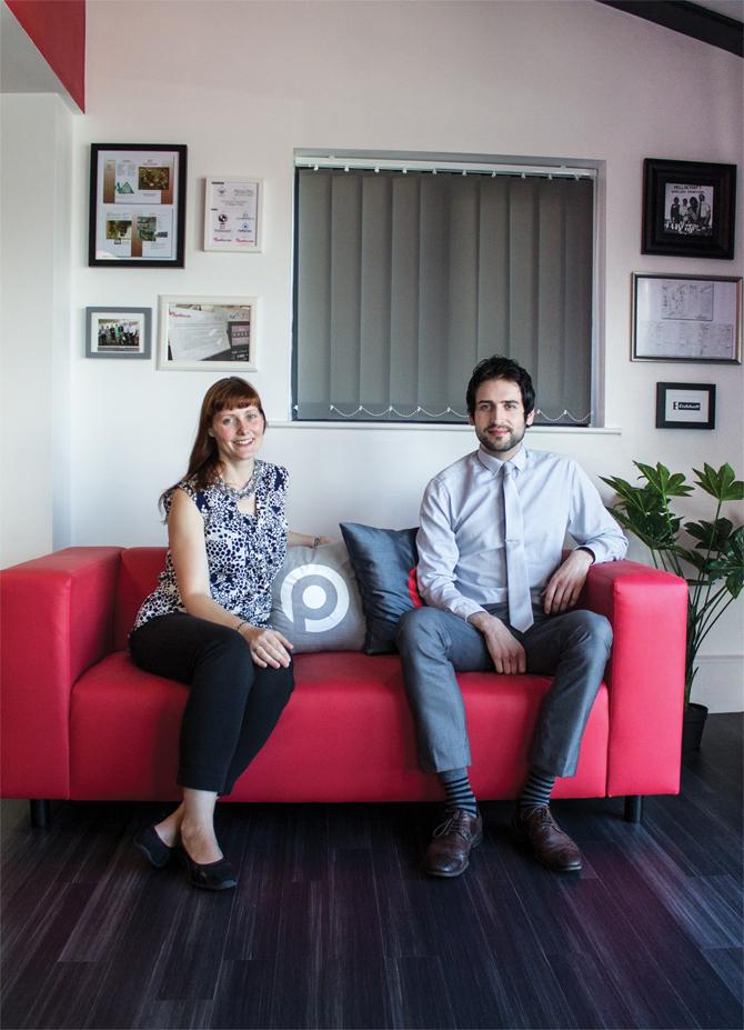 Kate Bradshaw and Mike Burton