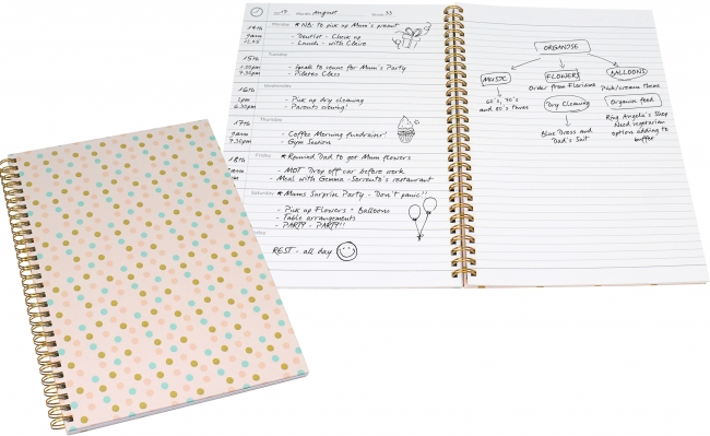 Wiropod™ Journal - a week to view diary and notebook in one!