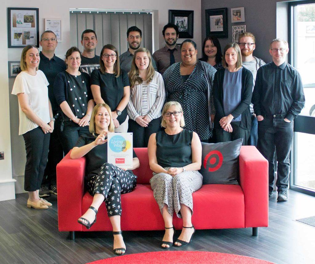 Pellacraft team - Living Wage employer
