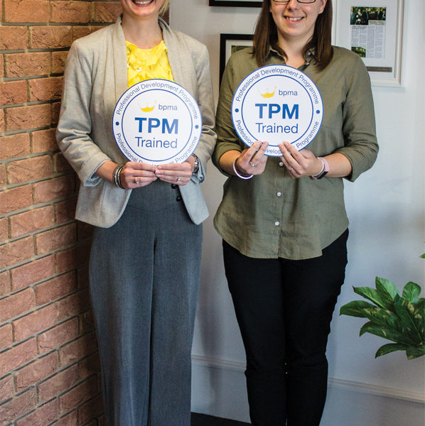 BPMA accreditations awarded to two Pellacraft team members