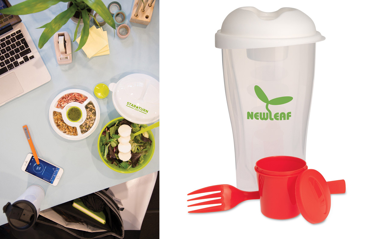 Salad Set and Shaker