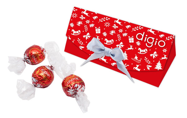 Lindor Chocolate Triangle