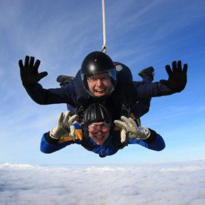 Charity Sky Dive for Framework