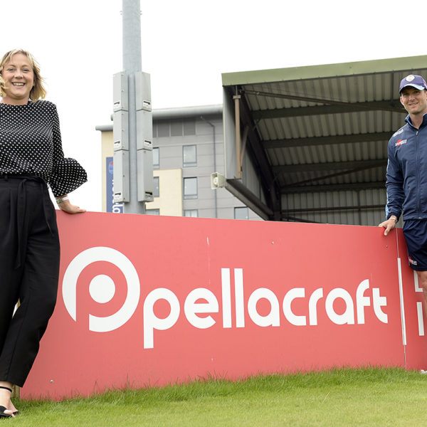 Pellacraft agree sponsorship with Derbyshire County Cricket Club