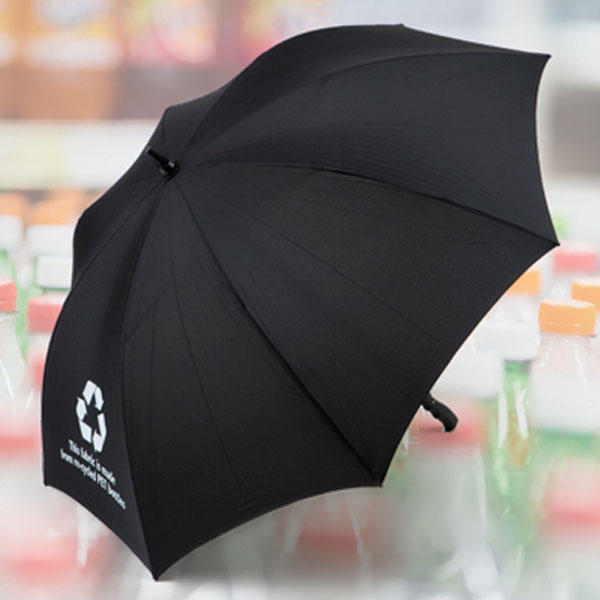 Sustainable Recycled PET Umbrellas for UK Weather.
