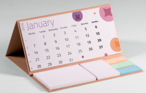Recycled CalendoNote Hard Cover