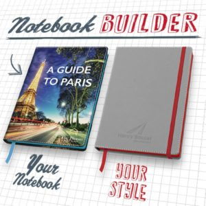 Get Creative with our NEW Notebook Builder