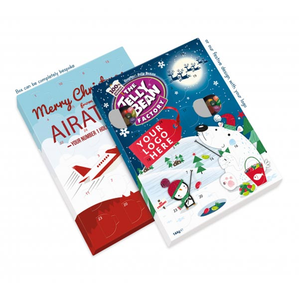 Tasty Festive Branding With All New Jelly Bean Advent Calendars
