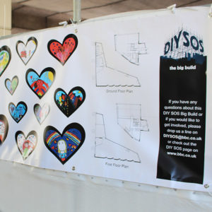 Pellacraft Supply Banners To DIY SOS TV Programme