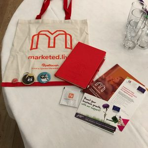 Promotional Merchandise For Marketing Conference