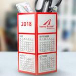 Pellacraft Calendar Pen Pot