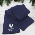 Last Minute Gifts - Branded Heavy Knit Scarf