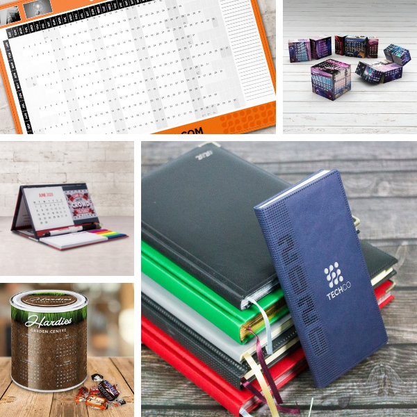 Branded Calendars and Diaries for 2020