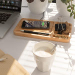 Premium Branded Gifts - Wireless Desk Charging Organiser