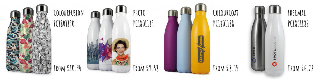 Branded Thermal Bottles from Pellacraft