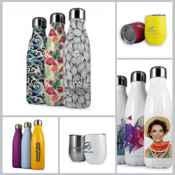 NEW Branded Thermal Bottles and Tumblers!