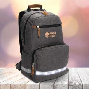 Branded LED Light Laptop Backpack