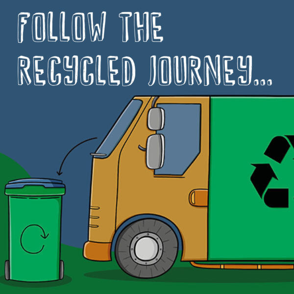 Follow the Recycled Journey of Paper Products!