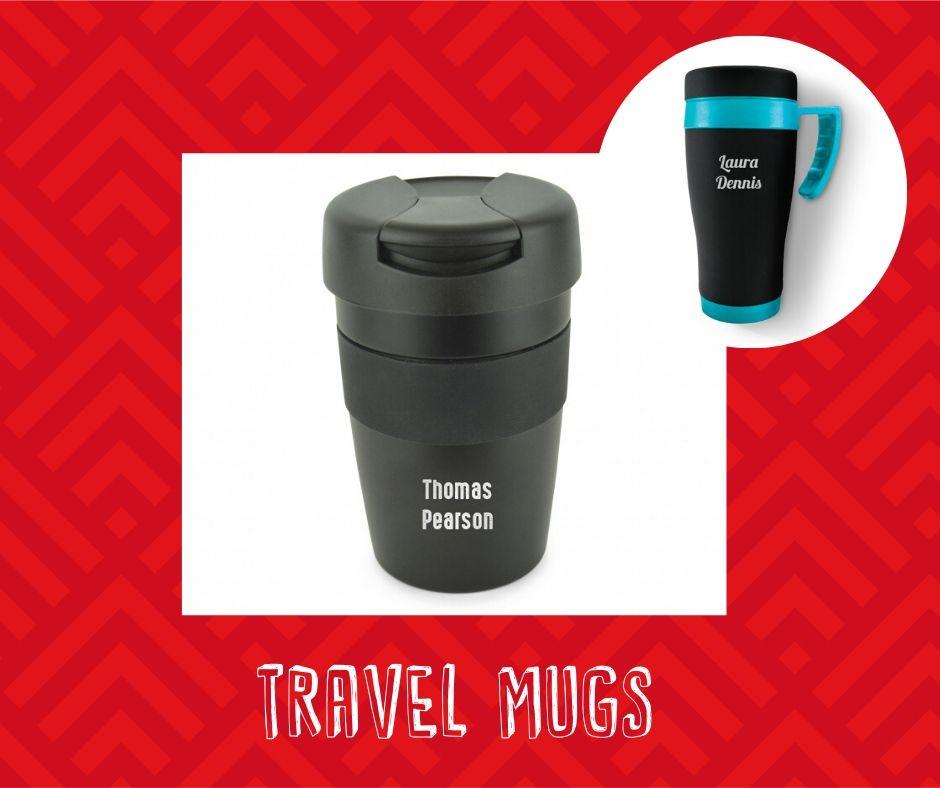 personalised branded products - travel mug