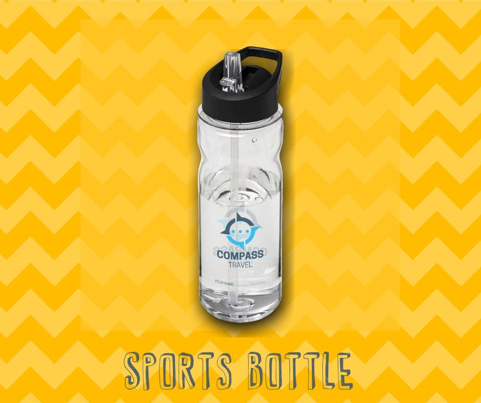 personalised branded products - sports bottle label