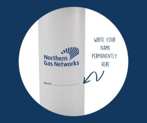 Personalised branded water bottles with a twist!