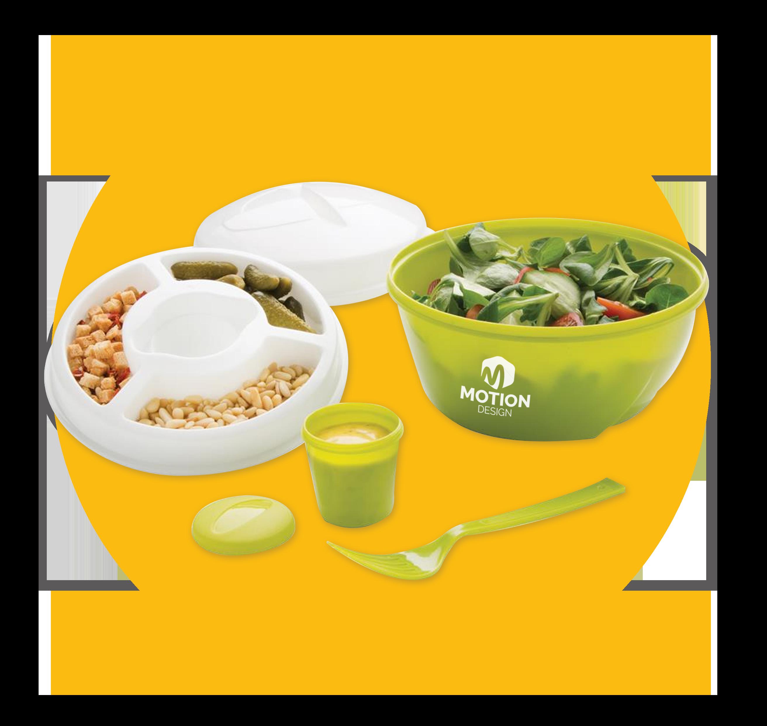 Promotional salad bowl